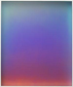 Daniel O'Toole - Indigo Blood 1 - Painting