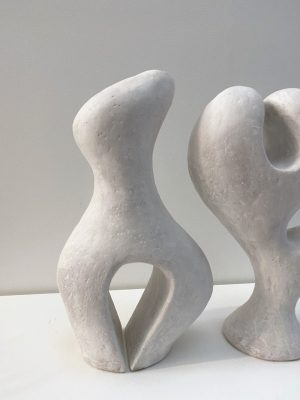 Katarina Wells - Biomorphic Pair - Sculpture