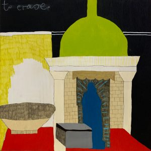 Erasure - Lily Cummins - Painting