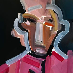 Nunzio Miano - Man In Pink - Painting