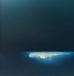 Katarina Wells - Baby Moonlight - Painting