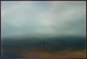 Theresa Hunt - Cloud Cover - Painting