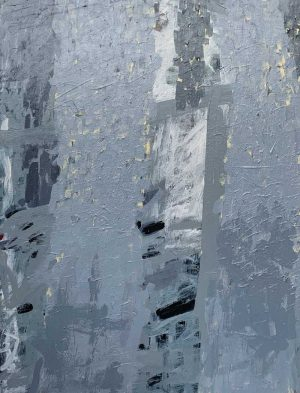 Ana Young - Fractured Morning - Painting