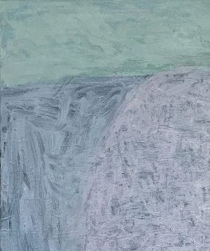 Ana Young - Like Mint In The Sky - Painting