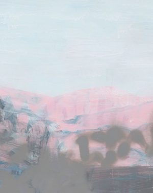 Susie Dureau - Burning Mountain at Wingen - Painting