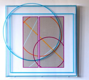 Kate Banazi - Re-Routed Stead to Dale - Acrylic Wall Sculpture