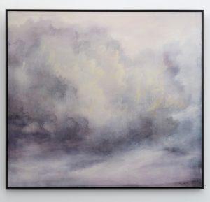Susie Dureau - Skywriting - painting