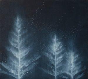 Susie Dureau - History Painting: Norfolk Pine - painting