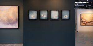 Susie Dureau - Blue - painting