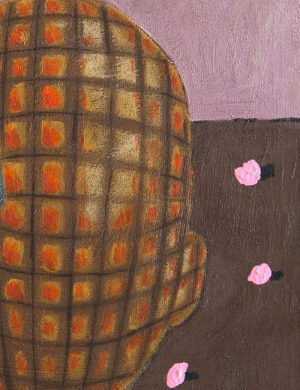 Kerrie Oliver - Sometimes I Just Don't Know If I Am Arthur Or Martha - Painting