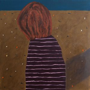Kerrie Oliver - I Never Seem To Connect All The Dots - Painting