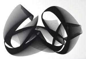 Kate Banazi - Back Bend - Silkscreen Print