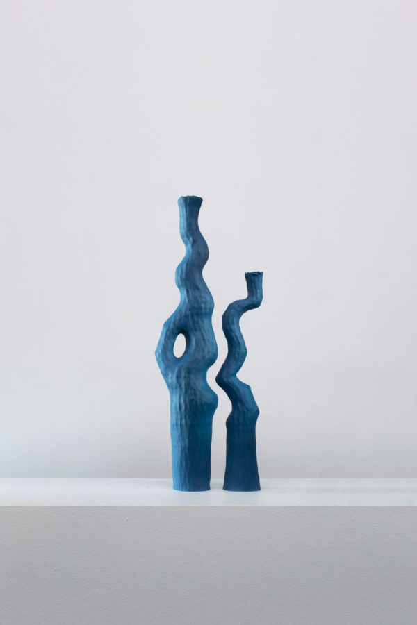 Kerryn Lev - Asymmetry Pair# 21.036 and 035 - Sculpture