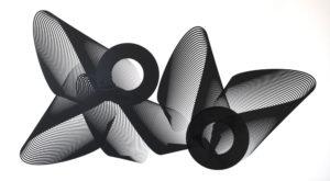 Kate Banazi - Long Line - Silkscreen Print