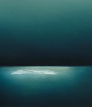 Theresa Hunt - Blue Light - Painting
