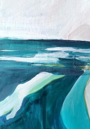Maria Kostareva - Come to the River Part I - Painting