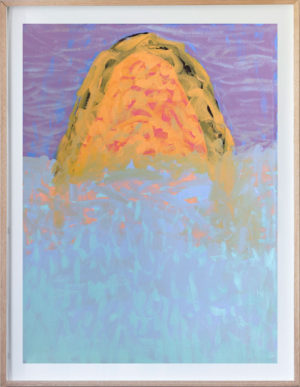 Lilac Dream Mountain - Amber Hearn - Oil Painting