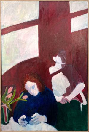 Maria Kostareva - Tulips - Painting