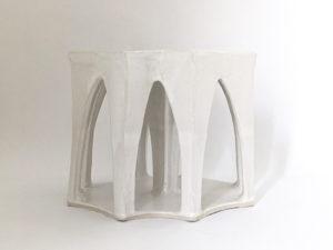 Natalie Rosin - Abandoned Pavilion No.2 - Ceramic sculpture