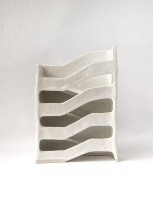 Natalie Rosin - Infrastructure No 1 - Ceramic Sculpture