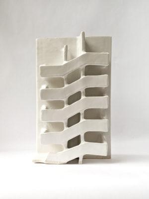 Natalie Rosin - Infrastructure No 2 - Ceramic Sculpture