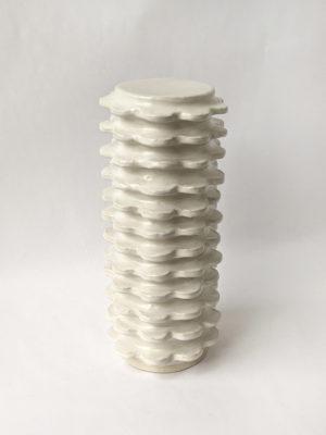 Natalie Rosin - Marina City No 1 - Ceramic Sculpture