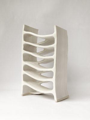 Natalie Rosin - Stairwell No 2 - Ceramic Sculpture
