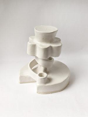 Natalie Rosin - Traffic Control Tower - Ceramic Sculpture