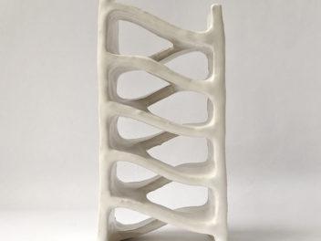 Natalie Rosin - Stairwell No 3 - Ceramic Sculpture