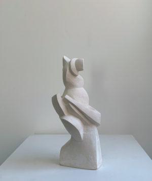 Eloquent Figure - Sculpture - Scott McNeil